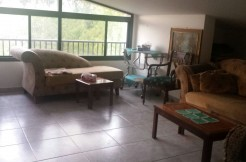 Mountain View Furnished Rooftop For Rent In Baabdat