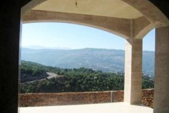 Mountain View Villa For Sale In Ajaltoun