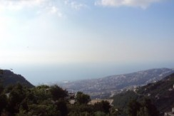 Sea And Mountain View Land For Sale In Ghosta