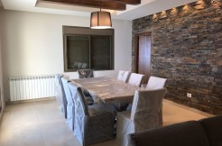 Mountain View Furnished Duplex Chalet For Sale In Faqra