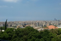 Sea And Beirut View Apartment For Sale In Baabda