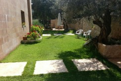 Sea And Mountain View Garden Floor For Rent In Roumieh