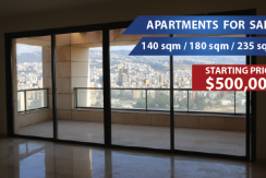 Beirut View Apartment For Sale In Achrafieh – Sioufi