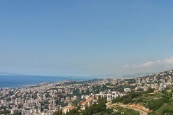 Unblockable Sea And Mountain View Apartment For Sale In Bsalim