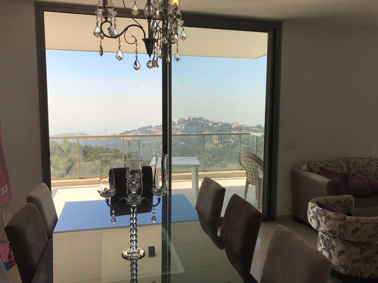 Beirut View Duplex For Sale In Beit Misk