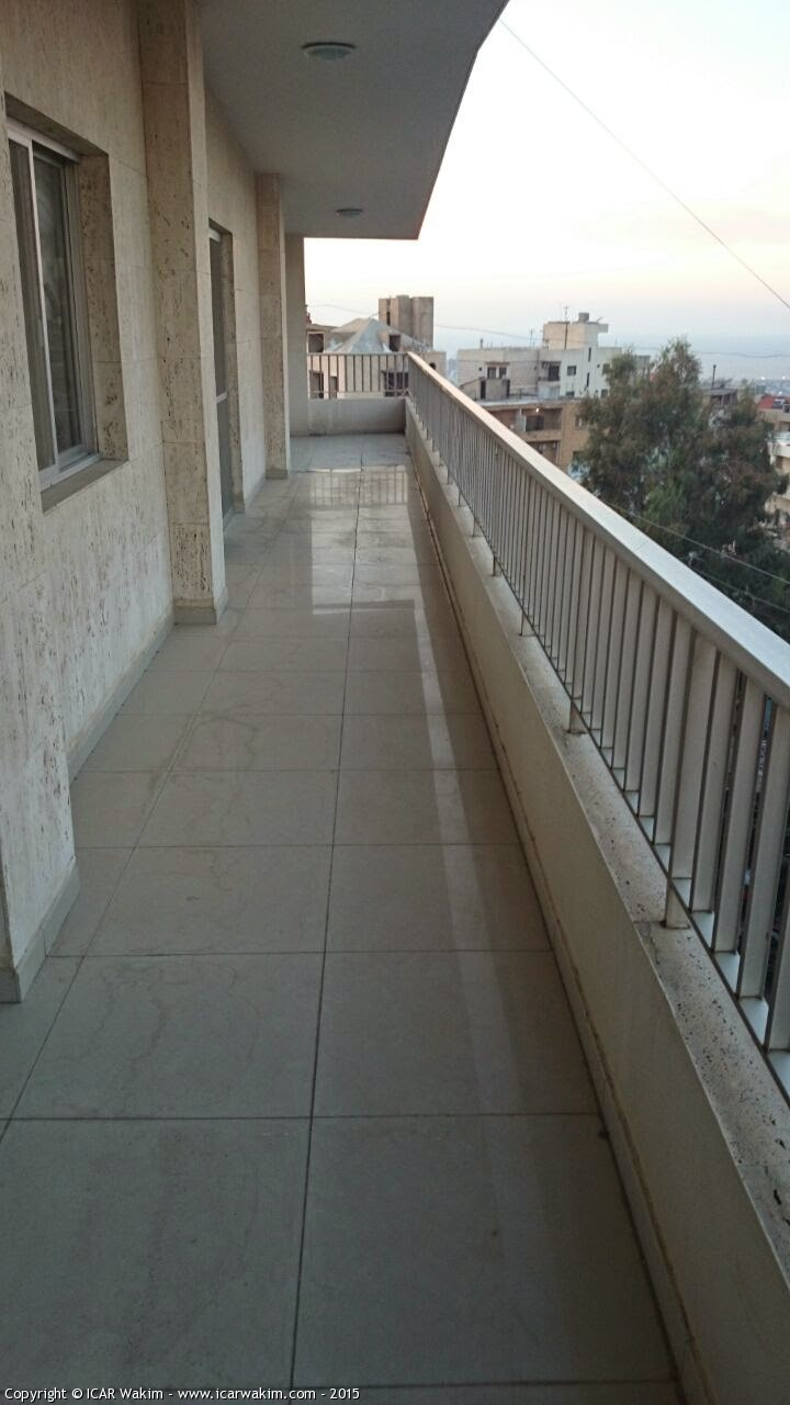 Mountain And Beirut View Apartment For Sale In Mansourieh