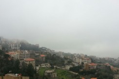 Panoramic View Apartment For Rent In Broumana