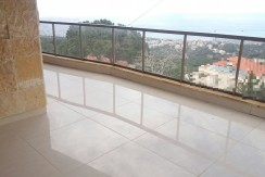 Sea View Duplex Apartment For Sale In Broumana