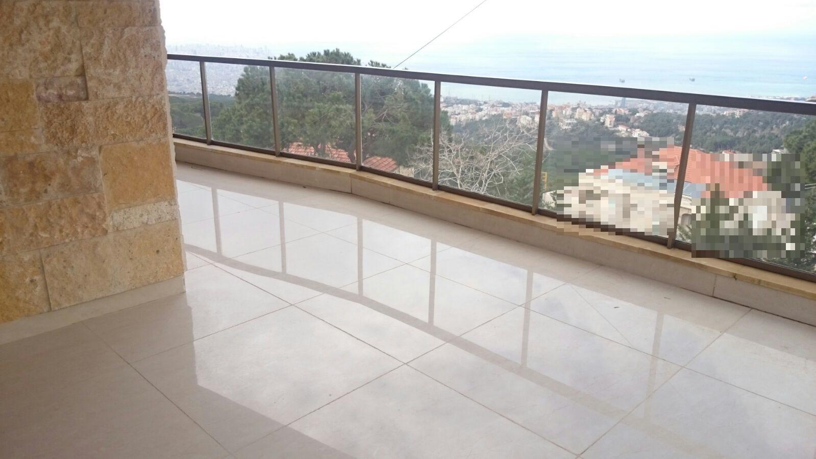 Sea View Duplex Apartment For Sale In Broumana