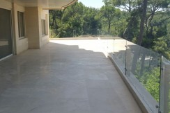 Sea And Beirut View Ground Floor For Sale In Broumana