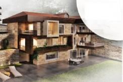 Mountain View Triplex Villa For Sale In Baabdat