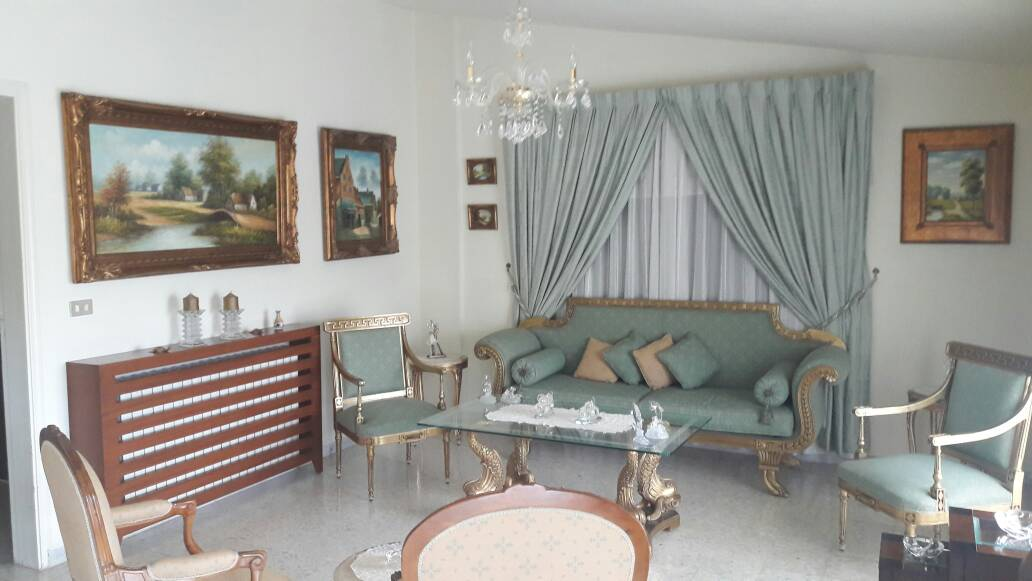 Panoramic Mountain View Apartment For Sale In Oyoun