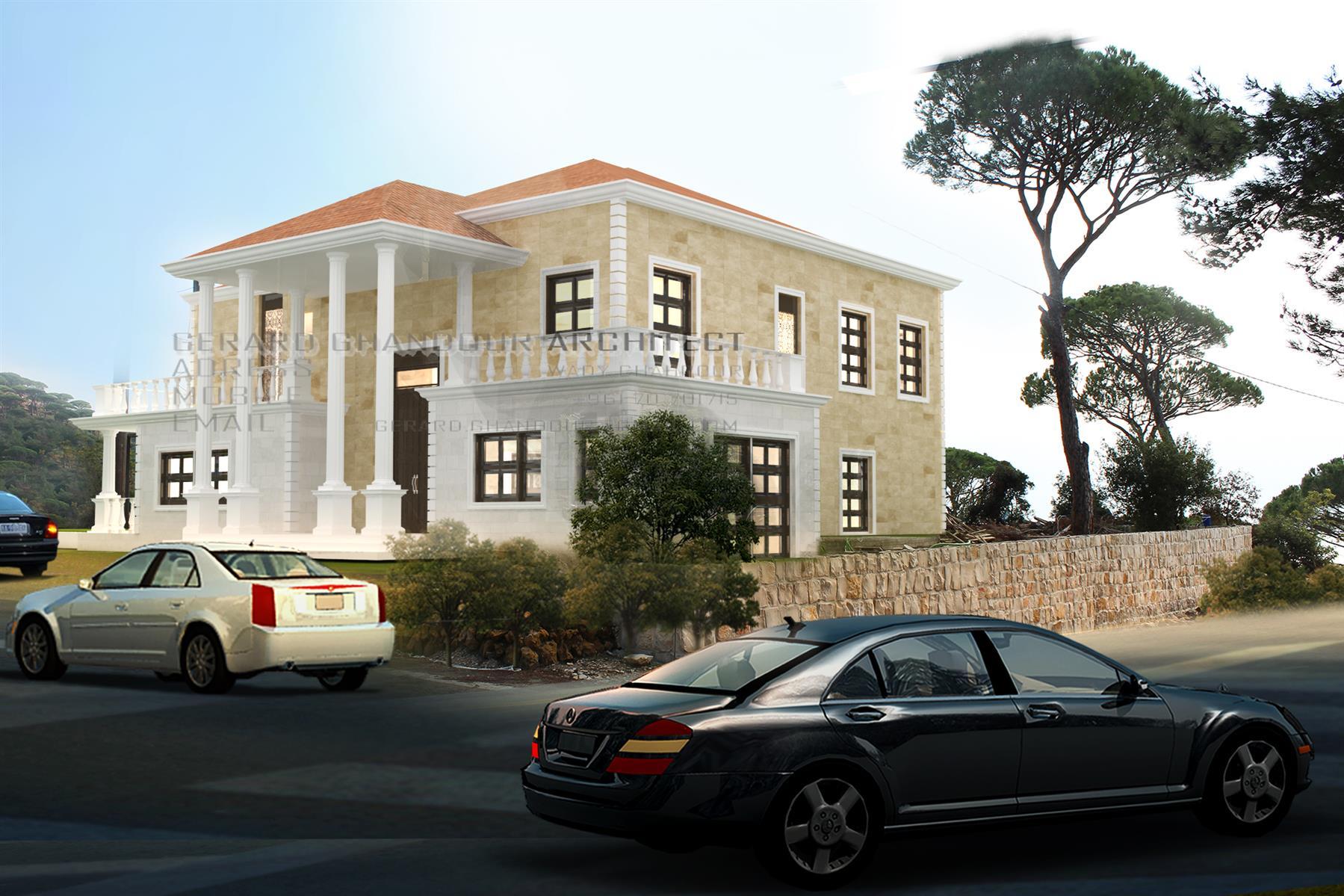 Ras El Metn Villa