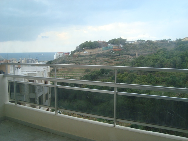 Sea View Apartment For Rent In Naccache