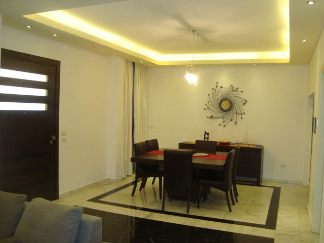 Furnished Ground Floor Apartment For Sale In Naccache