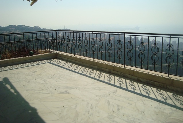 Panoramic View Apartment For Sale In Bsalim