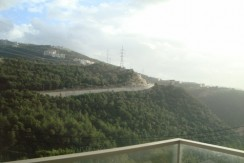 Mountain and Beirut View Apartment For Sale In Bsalim