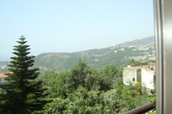 Mountain View Furnished Apartment For Rent In Mazraat Yachouh
