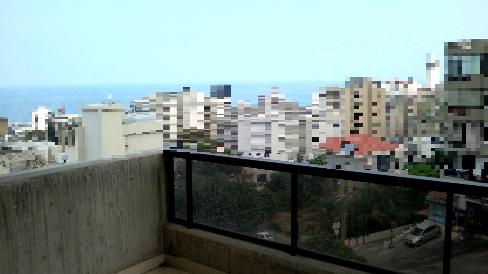 Apartment for sale in zouk mikael icar wakim for Balcony deck zouk