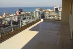 Sea and Mountain View Apartment For Sale In Adonis