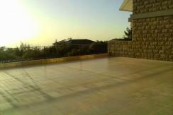 Sea and Mountain View Garden Floor For Sale In Ballouneh