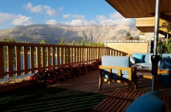 Panoramic View Furnished Chalet For Sale In Zaarour