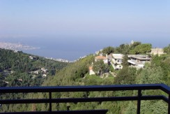 Sea And Mountain View Apartment For Sale In Kfour