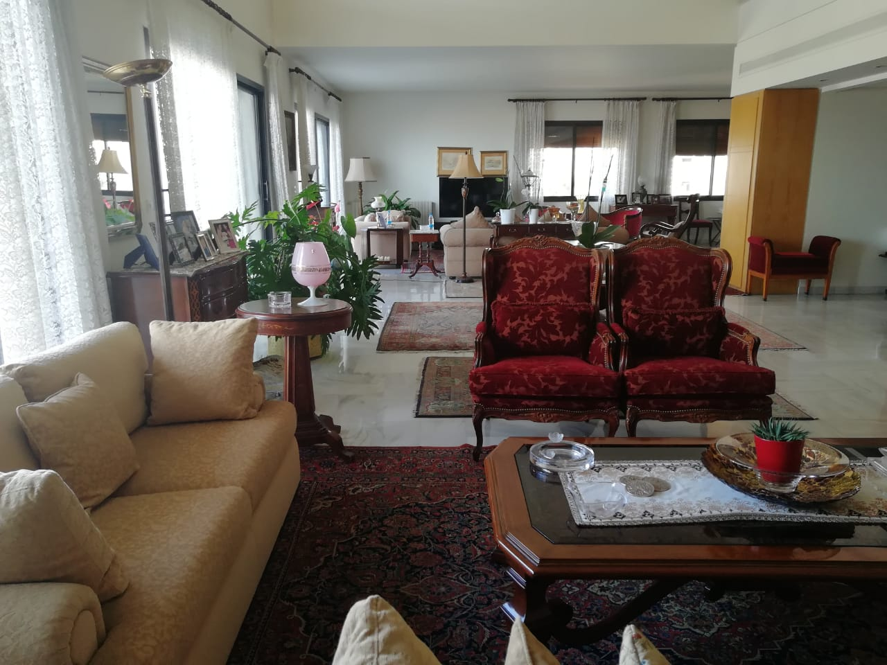 Panoramic View Duplex Apartment For Sale In Bayada
