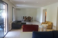 Sea And Beirut View Garden Floor For Rent In Broumana