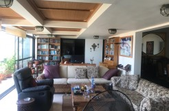 Panoramic View Furnished Rooftop For Sale In Roumieh