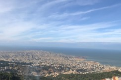 Sea And Beirut View Apartment For Sale In Beit Mery