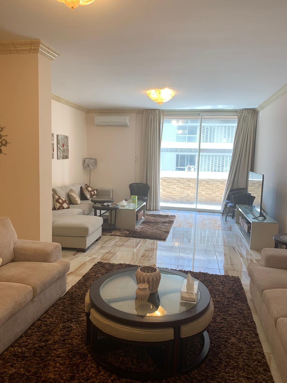 Open View Furnished Apartment For Rent In Raouche