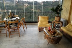 Sea And Mountain View Apartment For Sale In Rabweh