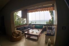 Sea View Triplex Villa For Sale In Ghazir