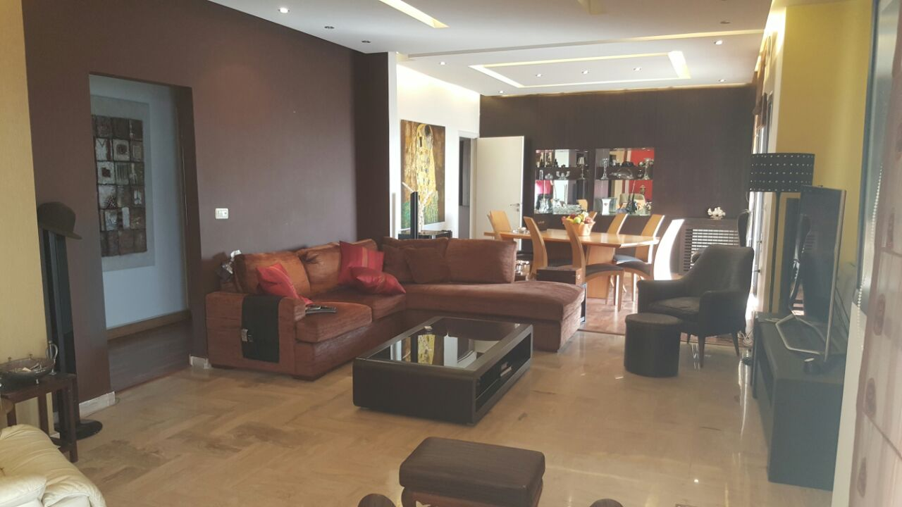 Sea View Furnished Apartment For Sale In Mansourieh