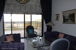 Beirut And Mountain View Apartment For Sale In Broumana