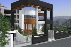 Open Sea View Villa For Sale In Baabdat